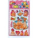 princess puffy stickers manufacture-meishuooffice co.,ltd