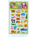 animal park puffy stickers-zoo puffy stickers-meishuooffice co.,tld