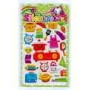 toaster puffy stickers exporter-meishuooffice co.,ltd