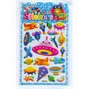 UFO puffy stickers-children cartoon puffy stickers-meishuoofficeco.,ltd